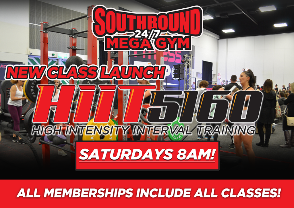 New Class Launch - HIIT 5160!